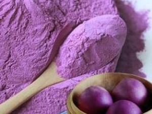 紫薯苑 紫番薯粉