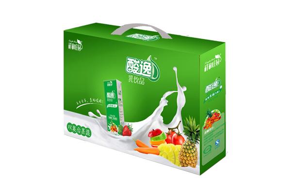 祥和莊園 酸逸乳飲品(果蔬味)