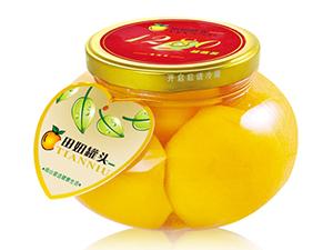 雅派 糖水黄桃罐头