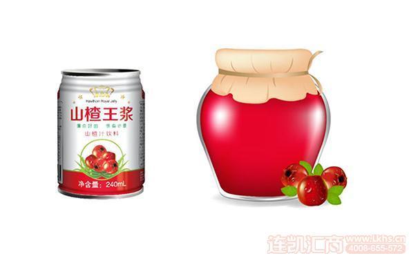 果色果香山楂汁