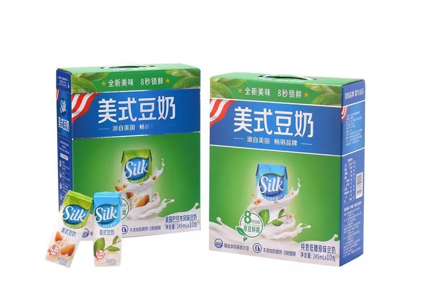 silk美式豆奶