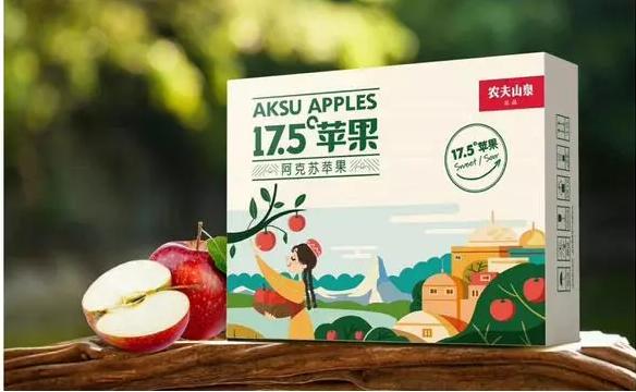 年关将到,农民地脊泉铰出产访友必备礼,鲜榨苹实汁
