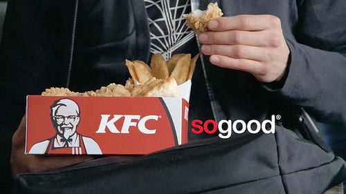 """首页 食品饮料资讯 食品资讯 >> 新闻详情   肯德基的一则""""嘻哈鸡"""""""
