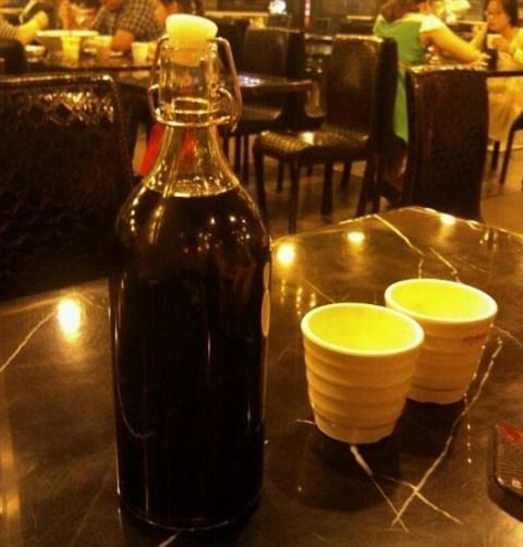 餐厅 酸梅汁