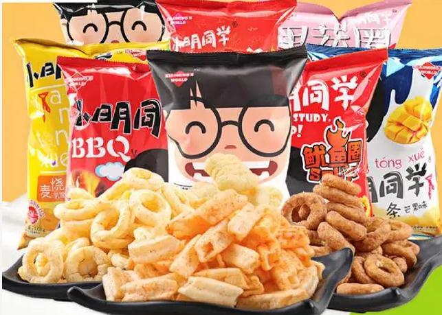 小茗同窗休闲零食正宗品牌!