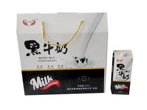 益峰果园 黑牛奶非活性乳酸菌饮料