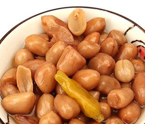 贝王族 泡椒焖花生罐头