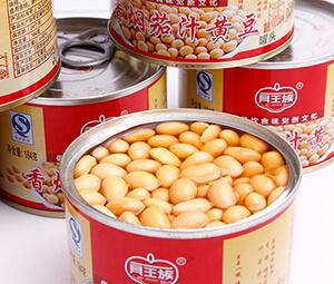 贝王族 香焖茄汁黄豆罐头