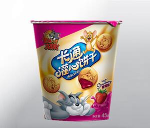 滋滋食品 卡通灌心饼干