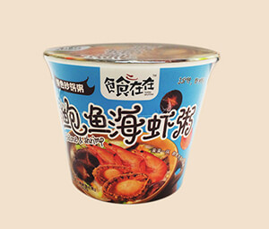 扬航 鲍鱼海虾粥