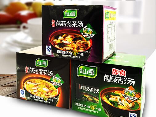 晋祥山宝速食蘑菇汤