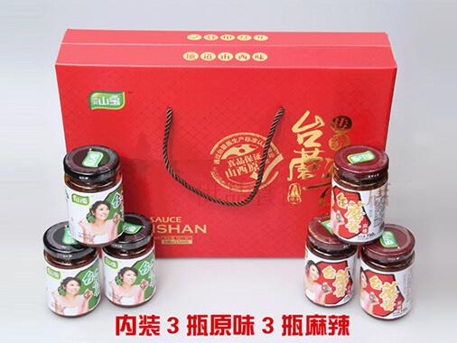 晋祥山宝台蘑酱礼盒