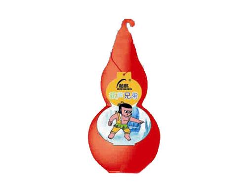 起航葫蘆兄弟紅瓶裝兒童乳飲料