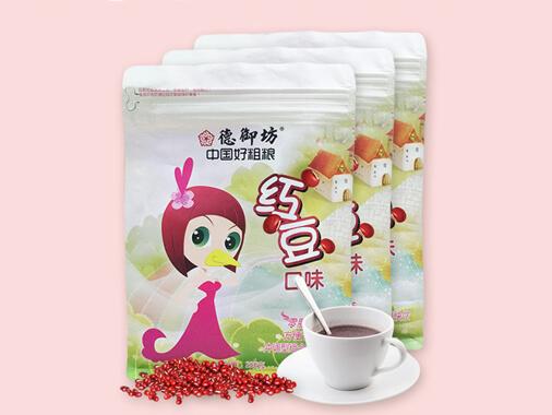 德御坊红豆薏米粉 红豆粉代早餐粉熟麦雀五谷粗杂粮养分早餐食品