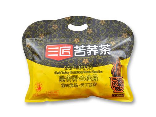 三匠 黑苦荞全株茶