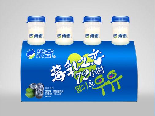 米奇 莓乳之恋-蓝莓味乳酸菌饮料