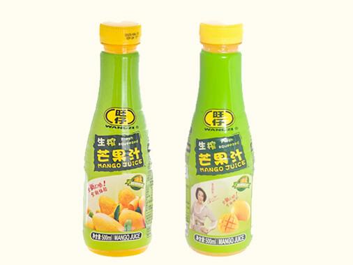 旺仔生榨芒果汁