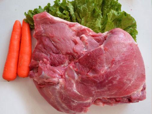 泽润 带膘四号肉