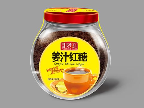 甜梦源玻璃瓶姜汁红糖