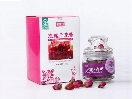 瑰源 平陰玫瑰花茶-一級玫瑰茶