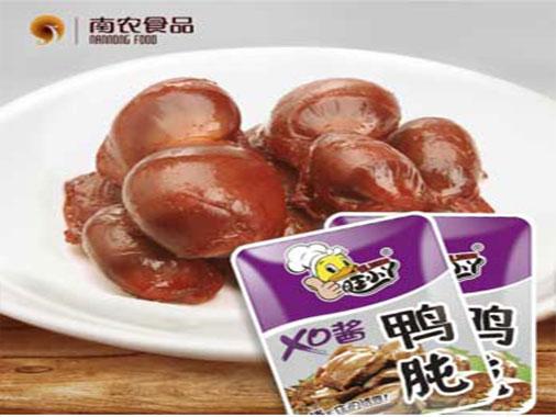 南农天润XO酱鸭肫