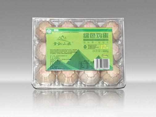 金凱山莊綠色雞蛋12枚