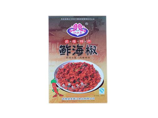 芙蓉江 鲊海椒盒装