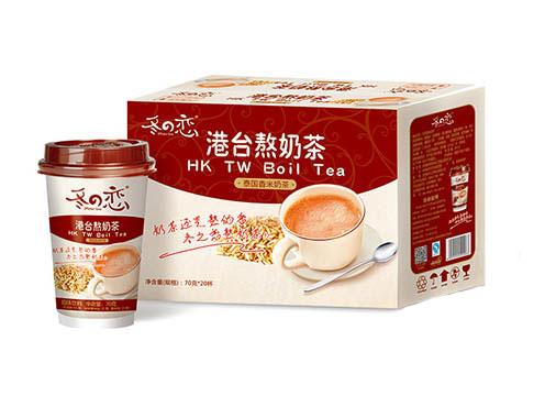 冬之恋泰国香米奶茶
