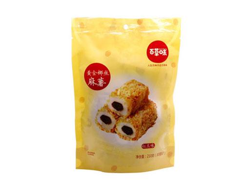 百草味麻薯