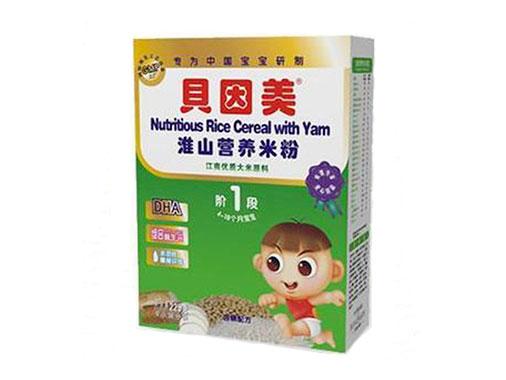 贝因美淮山营养米粉