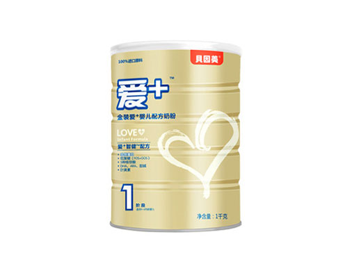 贝因美金装爱+婴儿配方奶粉