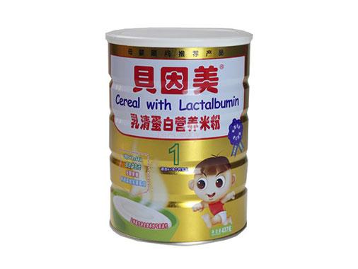 贝因美乳清蛋白营养米粉