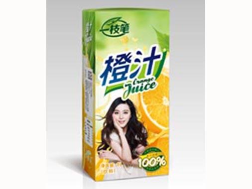 一枝笔橙汁(利乐包)