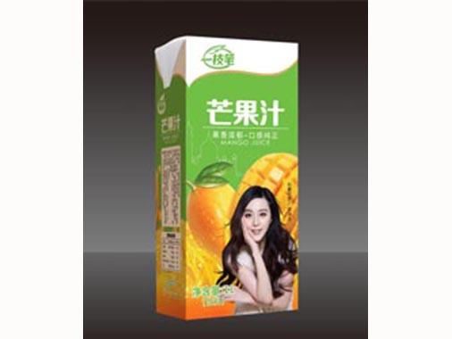 一枝笔芒果汁盒装