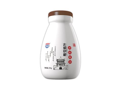 多鲜 古城印象-多鲜瓷瓶酸奶