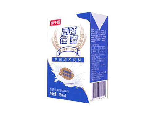 李子園加鈣燕麥乳味飲料