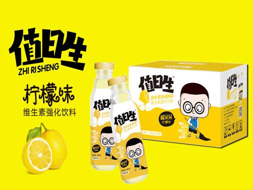 值日生柠檬味维生素强化饮料