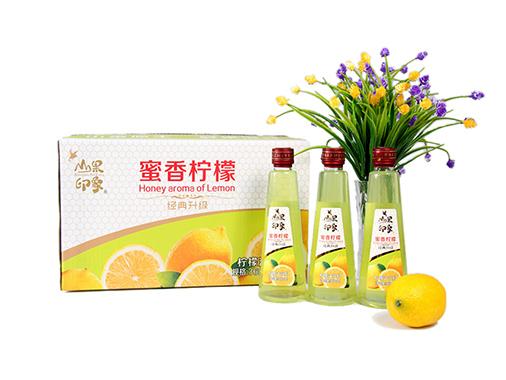 百芝源山果印象蜜香柠檬汁