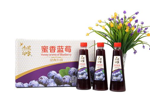 百芝源山果印象蜜香蓝莓汁