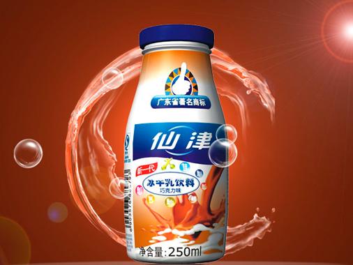 仙津冰牛乳飲料巧克力味