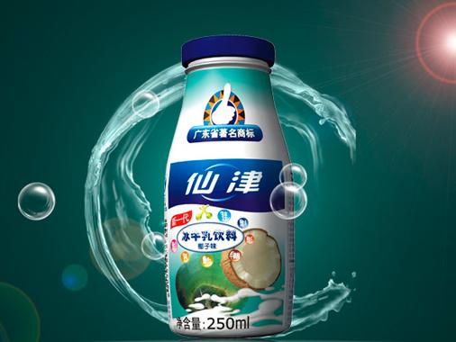 仙津冰牛乳飲料椰子味