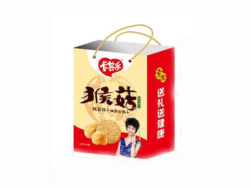 卡其乐猴菇饼干-一提双盒