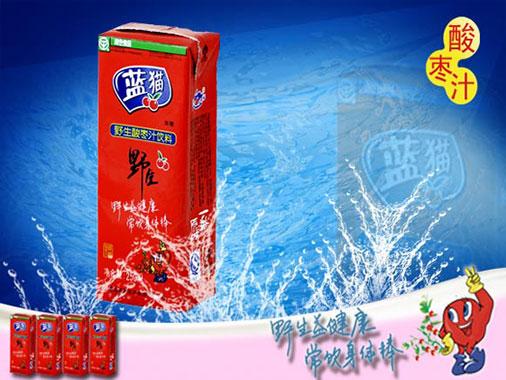 蓝猫  野生酸枣汁利乐包