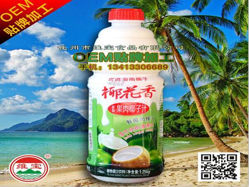 椰益 鲜椰肉榨汁