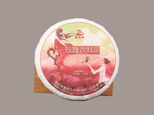 合昌轩 饼玫瑰普洱茶