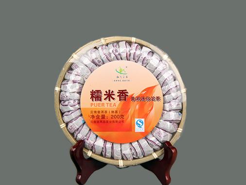 合昌轩 天然糯米香普洱沱茶