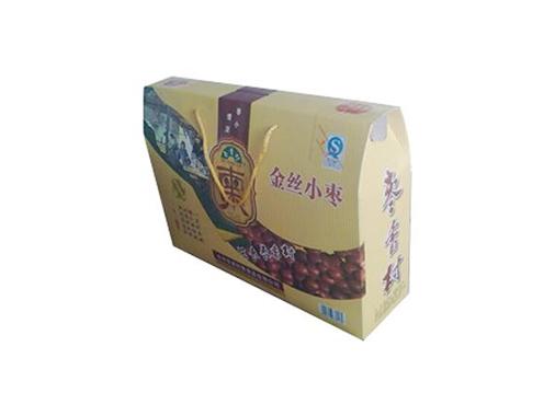 枣香村平装礼物盒金丝小枣