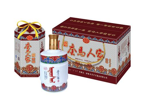 套馬人家鉆石蒙古包奶酒