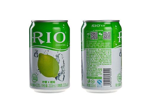 RIO锐澳鸡尾酒水柠檬口胃