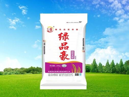 康乐 绿品豪超级高筋小麦粉